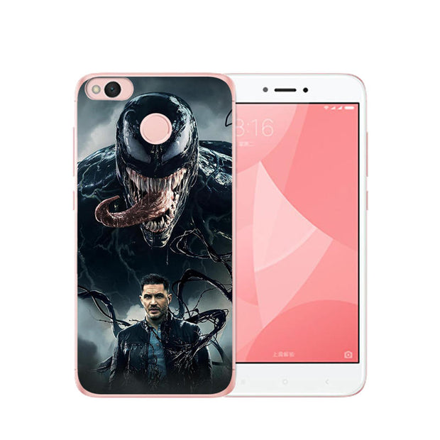 Venom Cool For Coque Xiaomi Mi A1 5X 6 A2 6X Lite 8 Pocophone F1 Phone Case Shell Soft Silicone Etui Cover Capa Funda Fashion