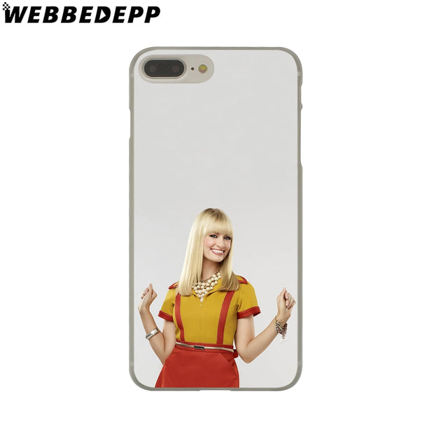 WEBBEDEPP 2 Broke Girl Hard Phone Case For IPhone X XS Max XR 7 8 6S Plus 5 5S SE 5C 4 4S Cover