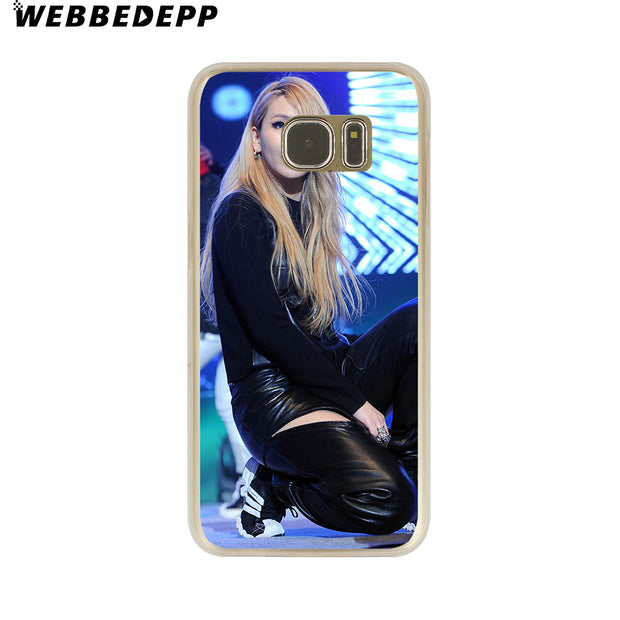 WEBBEDEPP 2nel Cl Hard Transparent Phone Case For Galaxy S6 S7 Edge S9 S8 Plus S5 S4 S3 Cover