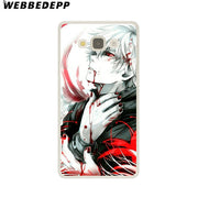 WEBBEDEPP Anime Tokyo Ghouls Hard Case For Galaxy A3 A5 2015 2016 2017 A6 A8 Plus 2018 Note 8 9 Grand Cover