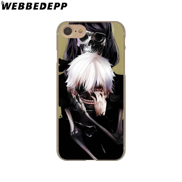 WEBBEDEPP Anime Tokyo Ghouls Hard Phone Case For IPhone X XS Max XR 7 8 6S Plus 5 5S SE 5C 4 4S Cover