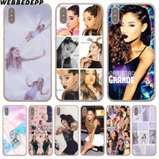WEBBEDEPP Ariana Grande S New Girl Hard Phone Case For IPhone X XS Max XR 7 8 6S Plus 5 5S SE 5C 4 4S Cover