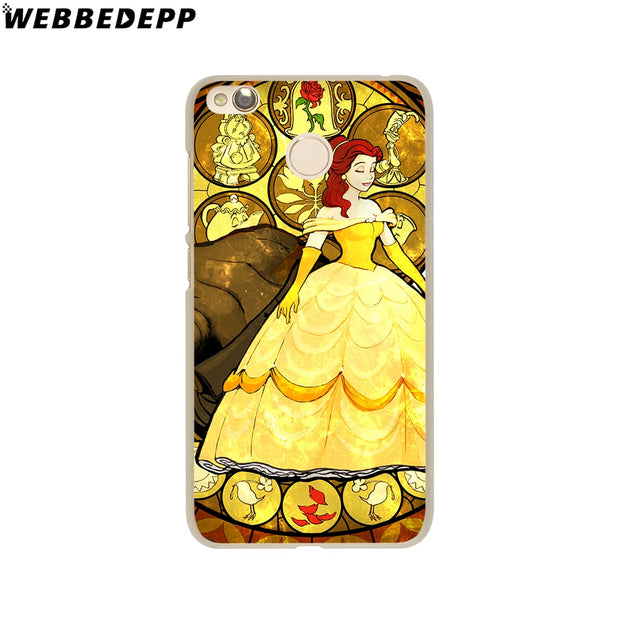 WEBBEDEPP Beauty And The Beast Phone Case For Xiaomi Redmi 4X 4A 5A 5 Plus 6 Pro 6A S2 Note 5 6 Pro 4X Cover
