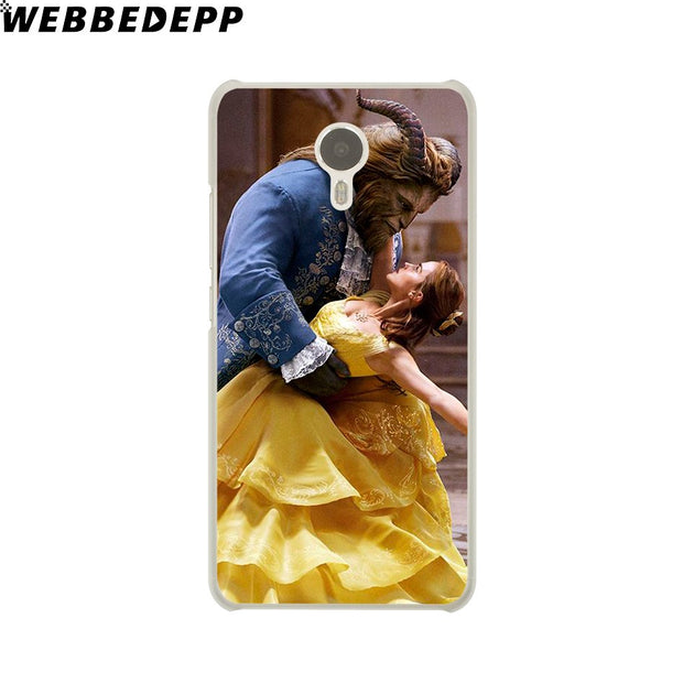 WEBBEDEPP Beauty And The Beast Bella Phone Case For Meizu M6 M5 M3 Note M6S M5S M5C M3S Mini Cover