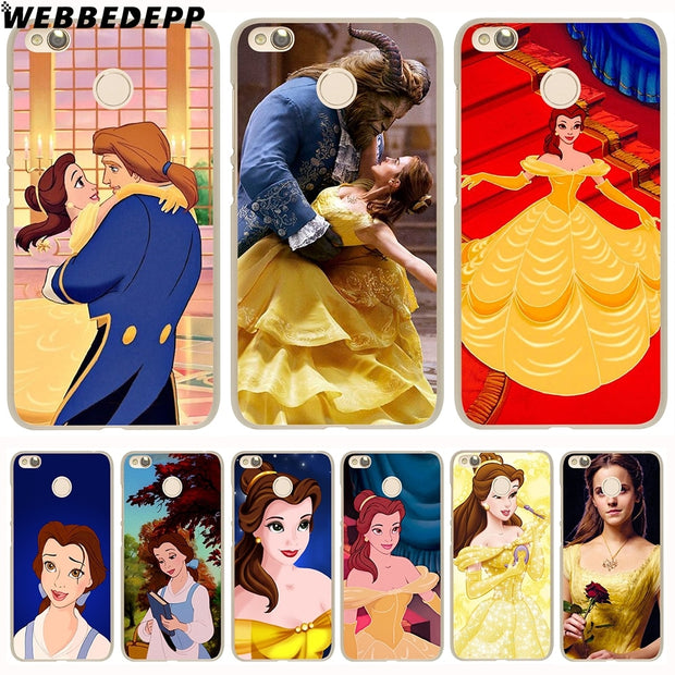 WEBBEDEPP Beauty And The Beast Bella Phone Case For Xiaomi Redmi 4X 4A 5A 5 Plus 6 Pro 6A S2 Note 5 6 Pro 4X Cover