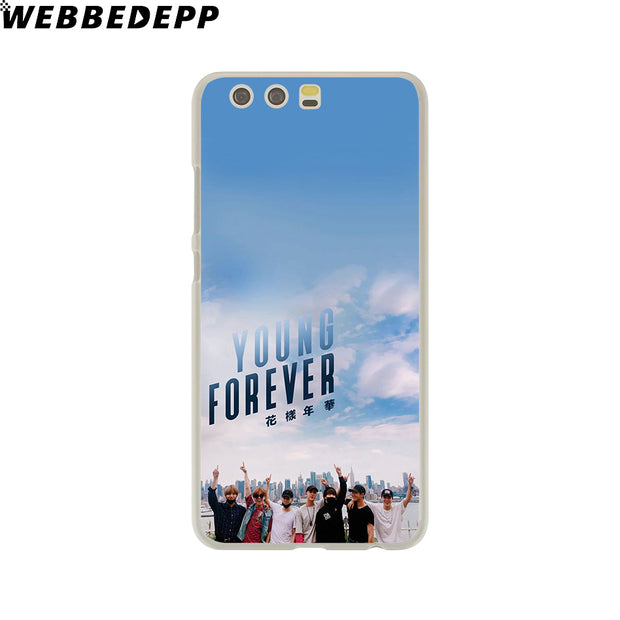 WEBBEDEPP Bts Bangtan Young Forever Phone Case For Huawei P20 Pro Smart P10 P9 Lite 2016/2017 P8 Lite 2015/2017 Cover