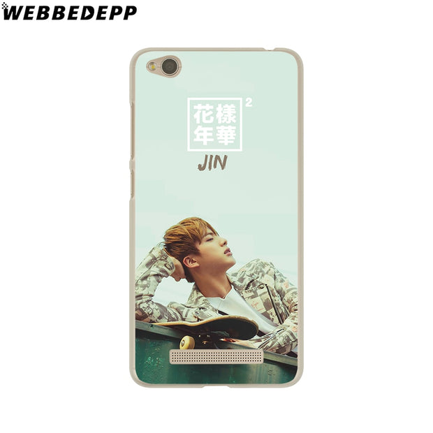 WEBBEDEPP Bts Bangtan Young Forever Phone Case For Xiaomi Redmi 4X 4A 5A 5 Plus 6 Pro 6A S2 Note 5 6 Pro 4X Cover