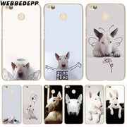 WEBBEDEPP Bull Terrier Bullterrier Dog Phone Case For Xiaomi Redmi 4X 4A 5A 5 Plus 6 Pro 6A S2 Note 5 6 Pro 4X Cover