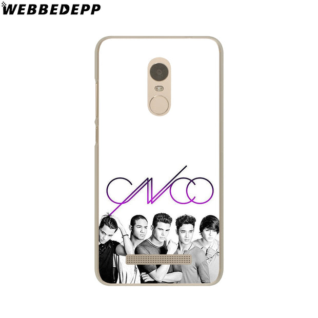 WEBBEDEPP CNCO Phone Case For Xiaomi Redmi 4X 4A 5A 5 Plus 6 Pro 6A S2 Note 5 6 Pro 4X Cover