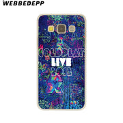 WEBBEDEPP Coldplay A Head Full Of Dreams Hard Case For Galaxy A3 A5 2015 2016 2017 A6 A8 Plus 2018 Note 8 9 Grand Cover