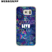 WEBBEDEPP Coldplay A Head Full Of Dreams Hard Transparent Phone Case For Galaxy S6 S7 Edge S9 S8 Plus S5 S4 S3 Cover