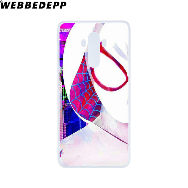 WEBBEDEPP Comics Spider Gwen Phone Case For Huawei Nova 3i 2i Mate 20 10 Lite Pro Y7 Y6 Y5 2017 II Cover