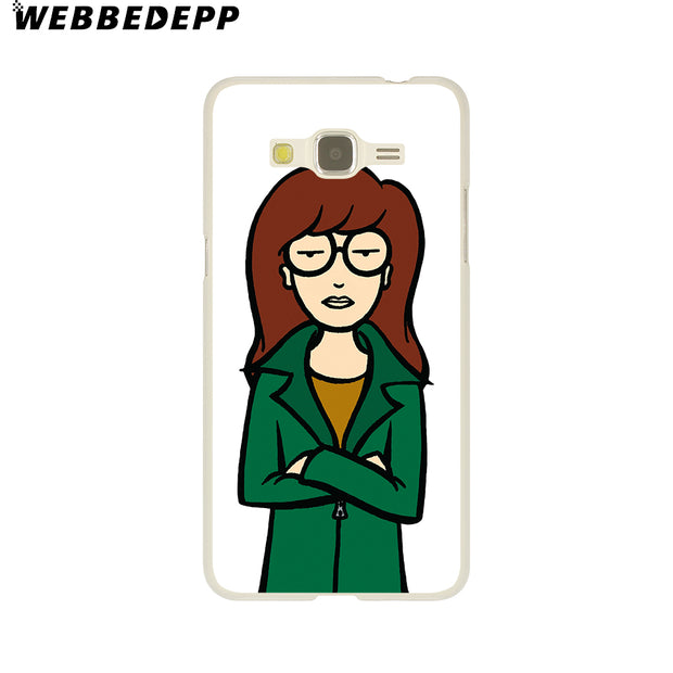 WEBBEDEPP DARIA MORGENDORFFER Hard Case For Galaxy A3 A5 2015 2016 2017 A6 A8 Plus 2018 Note 8 9 Grand Cover