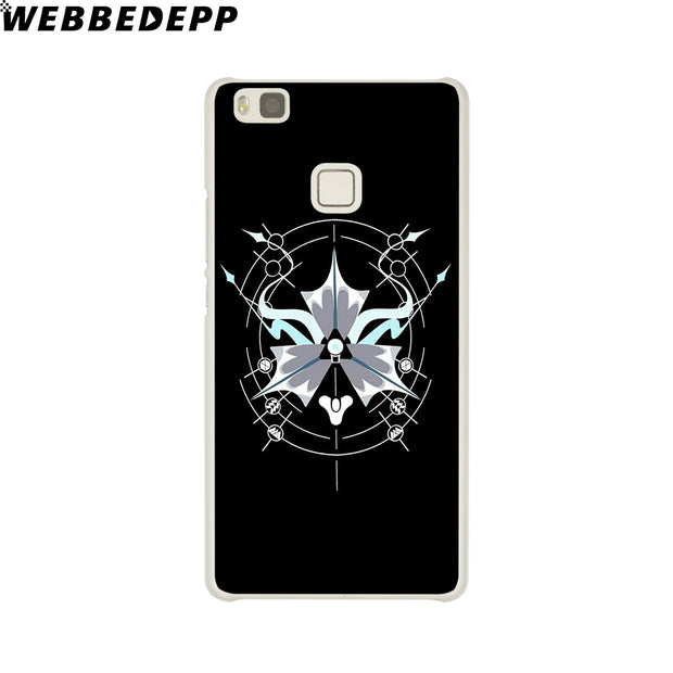 WEBBEDEPP DESTINY GHOST Phone Case For Huawei P20 Pro Smart P10 P9 Lite 2016/2017 P8 Lite 2015/2017 Cover