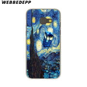 WEBBEDEPP Doctor Who Hard Case For Galaxy A3 A5 2015 2016 2017 A6 A8 Plus 2018 Note 8 9 Grand Cover