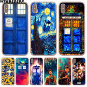 WEBBEDEPP Doctor Who Hard Phone Case For IPhone X XS Max XR 7 8 6S Plus 5 5S SE 5C 4 4S Cover