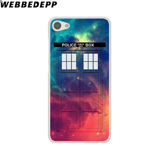 WEBBEDEPP Doctor Who Phone Case For Meizu M6 M5 M3 Note M6S M5S M5C M3S Mini Cover