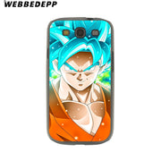WEBBEDEPP Dragon Ball Z Hard Transparent Phone Case For Galaxy S6 S7 Edge S9 S8 Plus S5 S4 S3 Cover