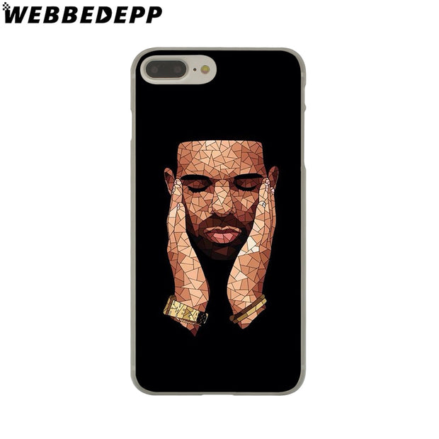WEBBEDEPP Drake Hard Phone Case For IPhone X XS Max XR 7 8 6S Plus 5 5S SE 5C 4 4S Cover