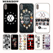 WEBBEDEPP EXO Baekhyun Hard Phone Case For IPhone X XS Max XR 7 8 6S Plus 5 5S SE 5C 4 4S Cover