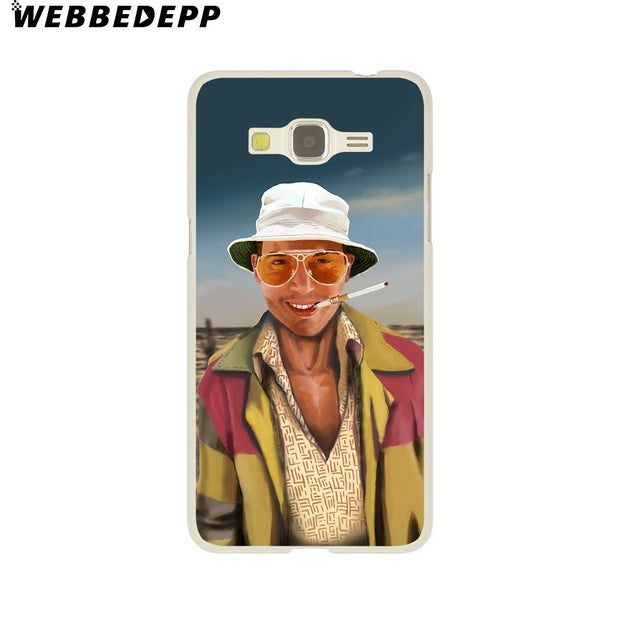 WEBBEDEPP Fear And Loathing In Las Vegas Hard Case For Galaxy A3 A5 2015 2016 2017 A6 A8 Plus 2018 Note 8 9 Grand Cover