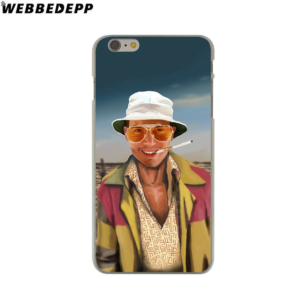 WEBBEDEPP Fear And Loathing In Las Vegas Hard Phone Case For IPhone X XS Max XR 7 8 6S Plus 5 5S SE 5C 4 4S Cover