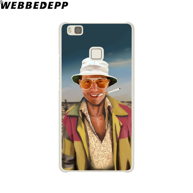 WEBBEDEPP Fear And Loathing In Las Vegas Phone Case For Huawei P20 Pro Smart P10 P9 Lite 2016/2017 P8 Lite 2015/2017 Cover