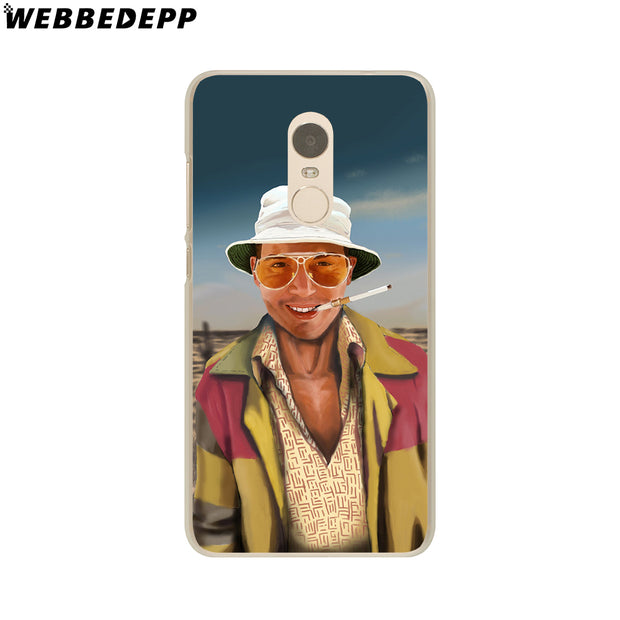WEBBEDEPP Fear And Loathing In Las Vegas Phone Case For Xiaomi Redmi 4X 4A 5A 5 Plus 6 Pro 6A S2 Note 5 6 Pro 4X Cover