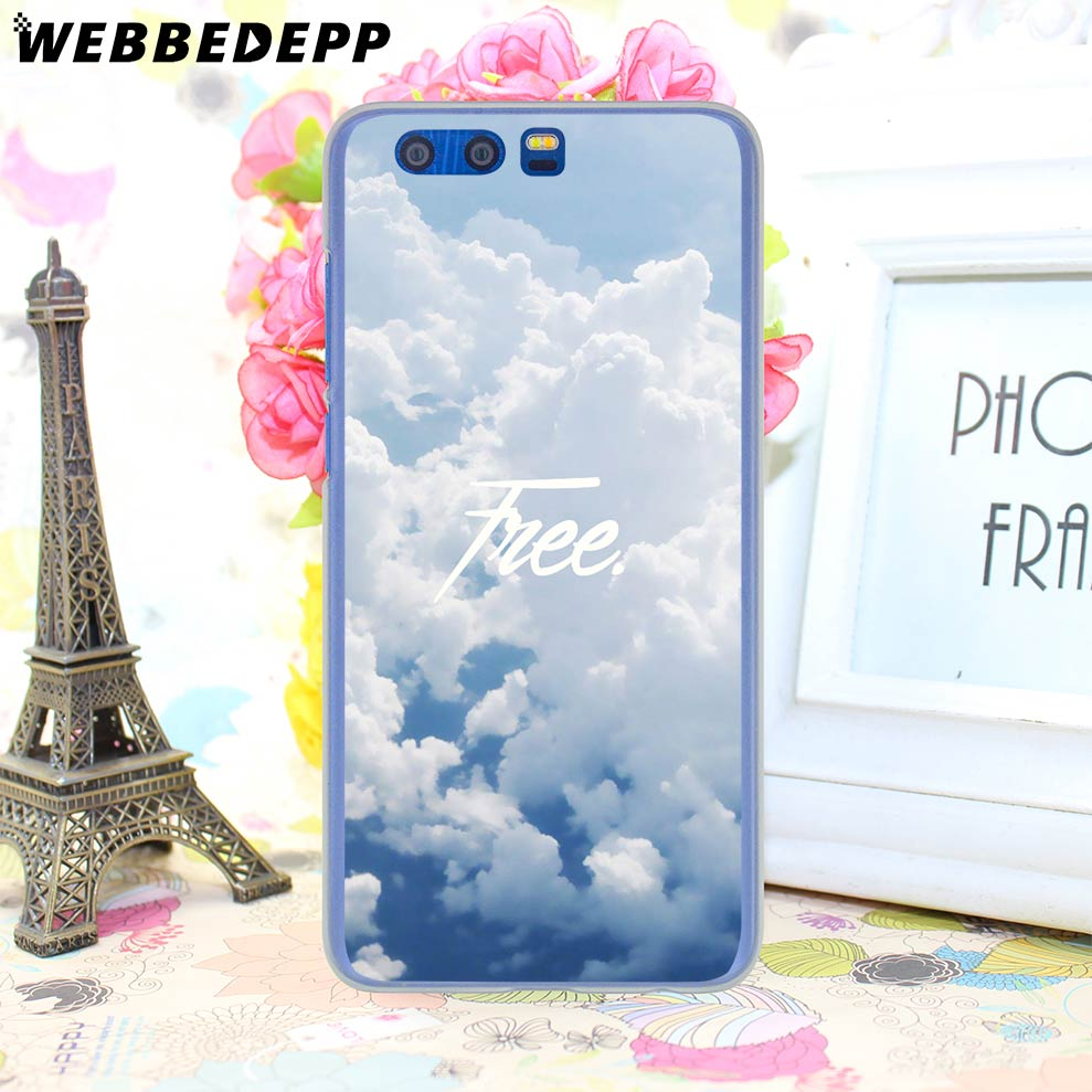 WEBBEDEPP Forest Mist Sky Free Phone Hard Case For Huawei Honor Play 9 8 10  Lite 8X 7X 6A 7A Pro 2GB 3GB Cover