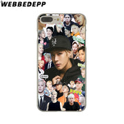 WEBBEDEPP GOT7 JinYoung Jackson Mark Hard Phone Case For IPhone X XS Max XR 7 8 6S Plus 5 5S SE 5C 4 4S Cover