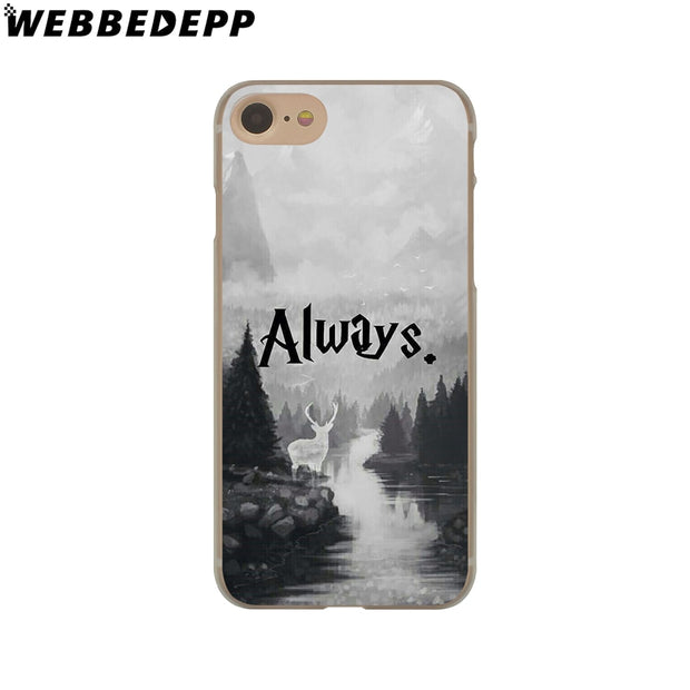 WEBBEDEPP Harry Potter Hard Phone Case For IPhone X XS Max XR 7 8 6S Plus 5 5S SE 5C 4 4S Cover