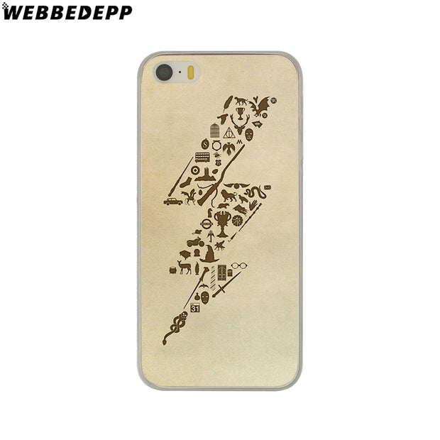 WEBBEDEPP Harry Potter Dream Magic Hard Phone Case For IPhone X XS Max XR 7 8 6S Plus 5 5S SE 5C 4 4S Cover