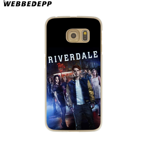 WEBBEDEPP Hot TV Riverdale Hard Transparent Phone Case For Galaxy S6 S7 Edge S9 S8 Plus S5 S4 S3 Cover