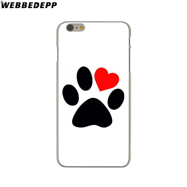 WEBBEDEPP I Love My Beagle Dogs Hard Phone Case For IPhone X XS Max XR 7 8 6S Plus 5 5S SE 5C 4 4S Cover