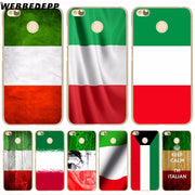 WEBBEDEPP Italy National Flag Phone Case For Xiaomi Redmi 4X 4A 5A 5 Plus 6 Pro 6A S2 Note 5 6 Pro 4X Cover