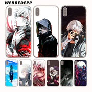 WEBBEDEPP Japenese Anime Tokyo Ghoul Hard Phone Case For IPhone X XS Max XR 7 8 6S Plus 5 5S SE 5C 4 4S Cover