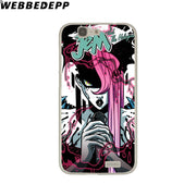 WEBBEDEPP Jem And The Holograms Phone Case For Huawei P20 Pro Smart P10 P9 Lite 2016/2017 P8 Lite 2015/2017 Cover