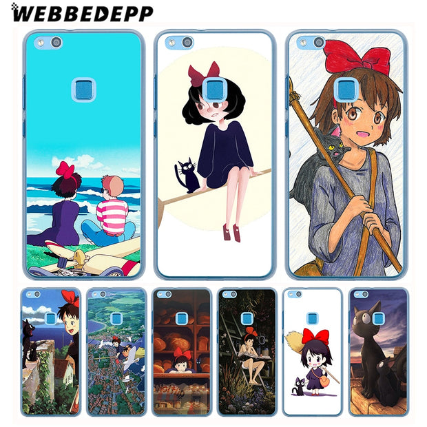 WEBBEDEPP Kiki's Delivery Service Phone Case For Huawei Nova 3i 2i Mate 20 10 Lite Pro Y7 Y6 Y5 2017 II Cover