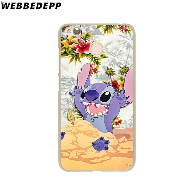 WEBBEDEPP LILO AND STITCH OHANA FAMIL Phone Case For Xiaomi Redmi 4X 4A 5A 5 Plus 6 Pro 6A S2 Note 5 6 Pro 4X Cover