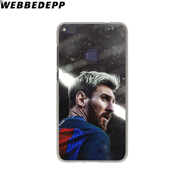 WEBBEDEPP Lionel Messi Phone Case For Huawei P20 Pro Smart P10 P9 Lite 2016/2017 P8 Lite 2015/2017 Cover