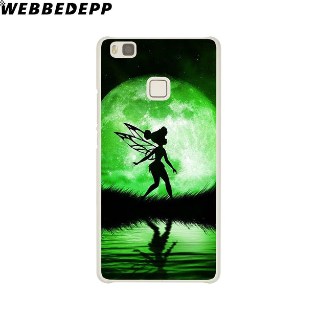 WEBBEDEPP Peter Pan Wendy Tinkerbell Phone Case For Huawei P20 Pro Smart P10 P9 Lite 2016/2017 P8 Lite 2015/2017 Cover