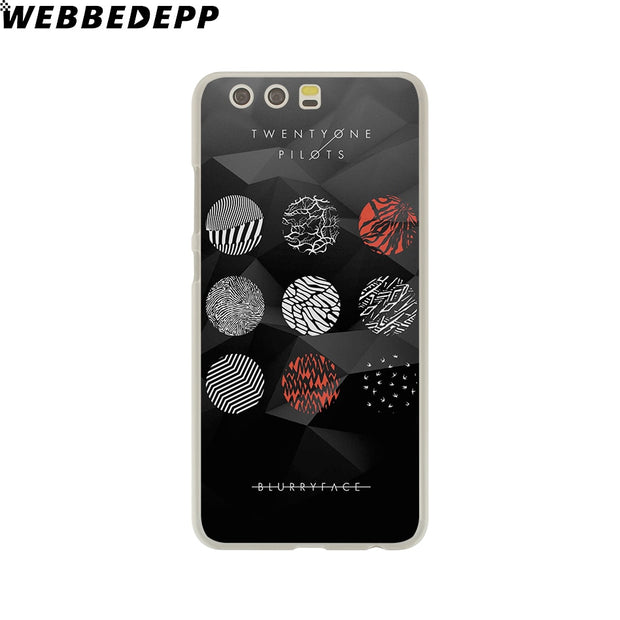 WEBBEDEPP Pilots Twenty One Pilots Phone Case For Huawei P20 Pro Smart P10 P9 Lite 2016/2017 P8 Lite 2015/2017 Cover