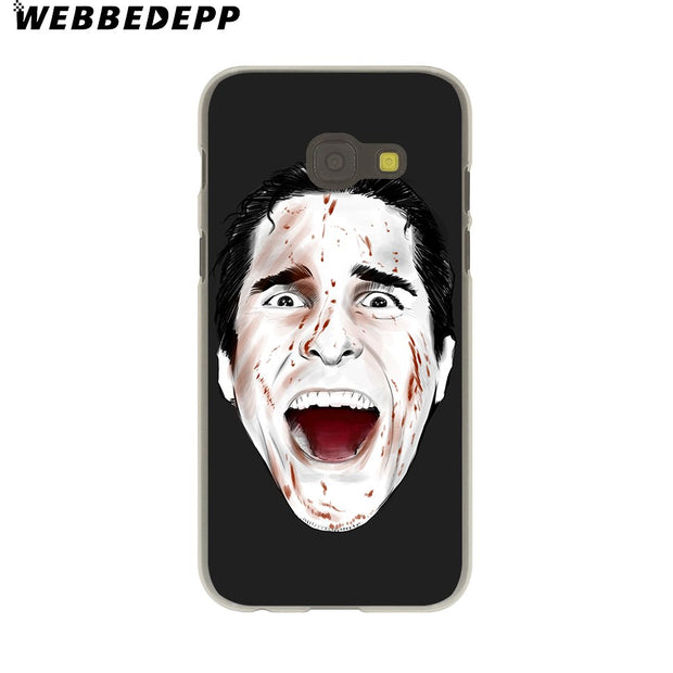 WEBBEDEPP Psycho Hard Case For Galaxy A3 A5 2015 2016 2017 A6 A8 Plus 2018 Note 8 9 Grand Cover