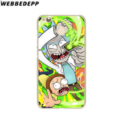 WEBBEDEPP Rick And Morty Season Phone Case For Xiaomi Redmi 4X 4A 5A 5 Plus 6 Pro 6A S2 Note 5 6 Pro 4X Cover
