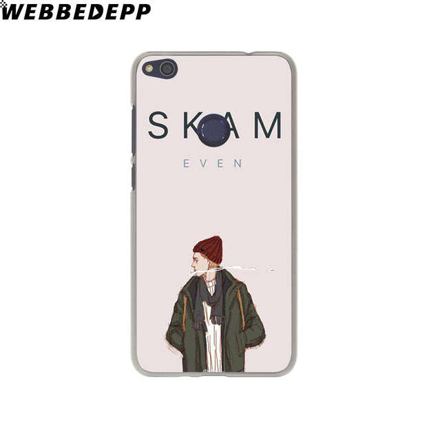 WEBBEDEPP SKAM Phone Case For Huawei P20 Pro Smart P10 P9 Lite 2016/2017 P8 Lite 2015/2017 Cover