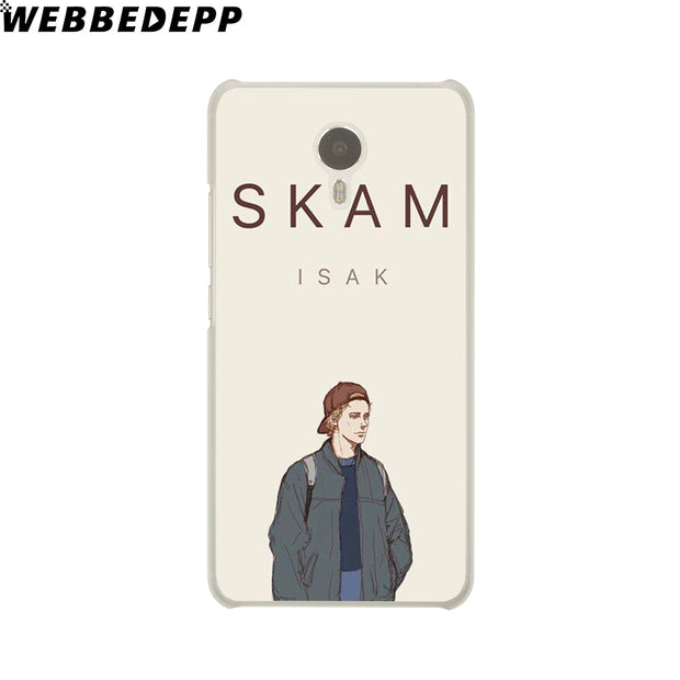 WEBBEDEPP SKAM Phone Case For Meizu M6 M5 M3 Note M6S M5S M5C M3S Mini Cover