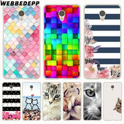 WEBBEDEPP Scale Flowers Stripe Fashion Cat Believe Phone Case For Meizu M6 M5 M3 Note M6S M5S M5C M3S Mini Cover