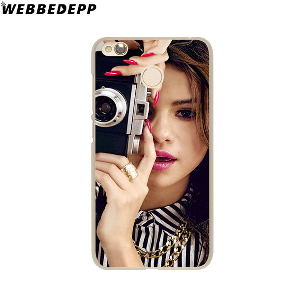 WEBBEDEPP Selena Gomez Phone Case For Xiaomi Redmi 4X 4A 5A 5 Plus 6 Pro 6A S2 Note 5 6 Pro 4X Cover