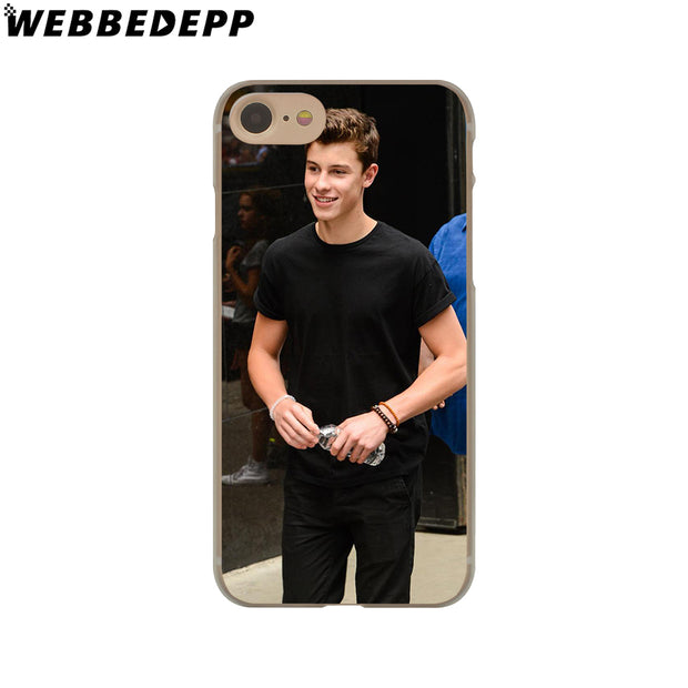WEBBEDEPP Shawn Mendes Magcon Hard Phone Case For IPhone X XS Max XR 7 8 6S Plus 5 5S SE 5C 4 4S Cover