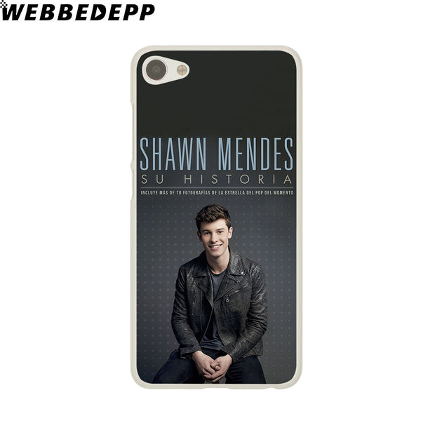 WEBBEDEPP Shawn Mendes Magcon Phone Case For Meizu M6 M5 M3 Note M6S M5S M5C M3S Mini Cover